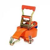 Orange Spännband 35 mm, krok-krok i påse
