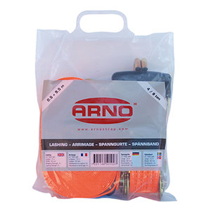 Orange Lashing 50 mm, hook-hook in bag