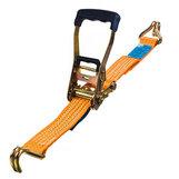 Orange Spännband 50 mm, krok-krok i påse